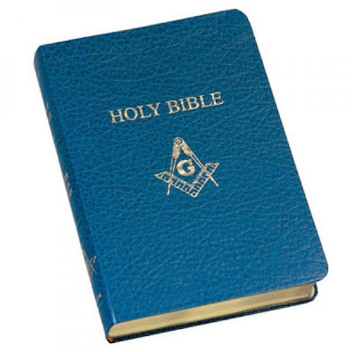 Image of Master Mason Holy Bible