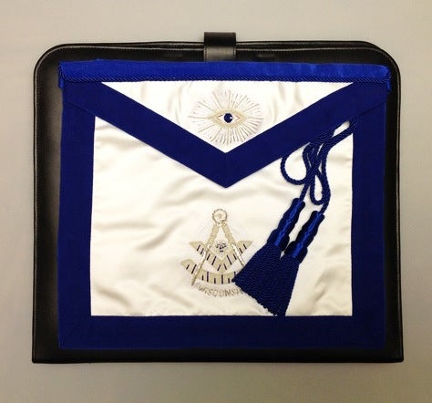 Image of Grand Lodge Wisconsin Past Master Apron