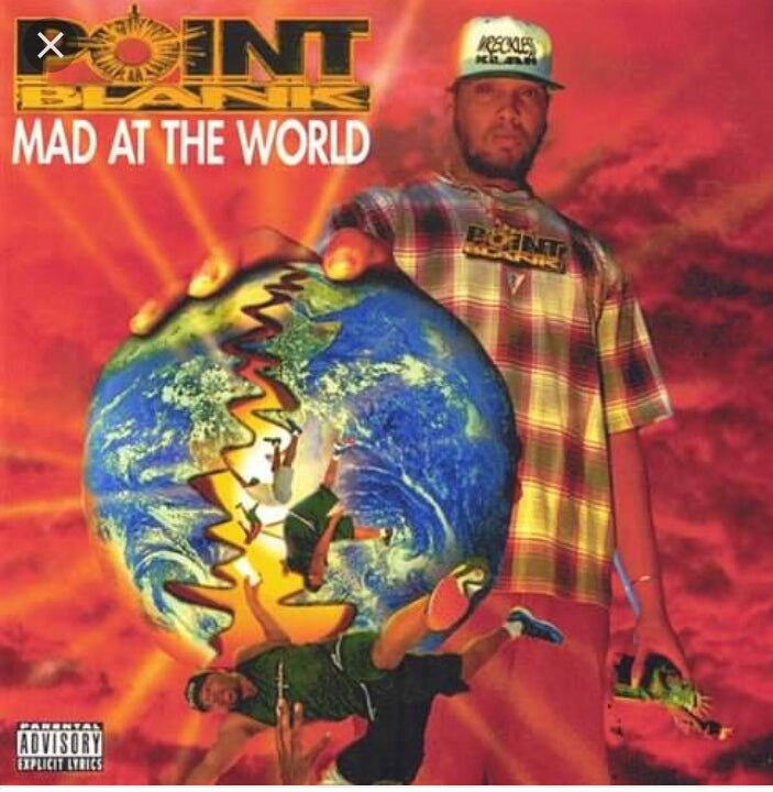 Image of POINT BLANK. ......MAD AT THE WORLD