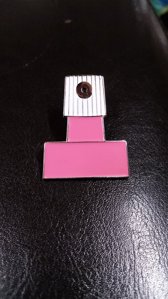 Image of ADAPTER CAP LAPEL PIN limited run