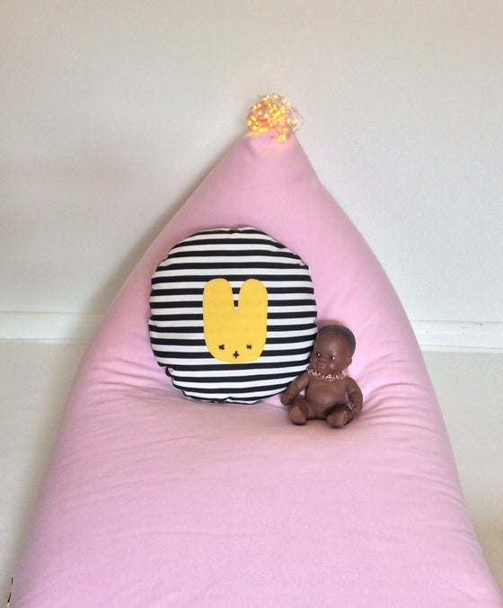 Image of Pinky Love PomPom Beanbag Cover - Kids size