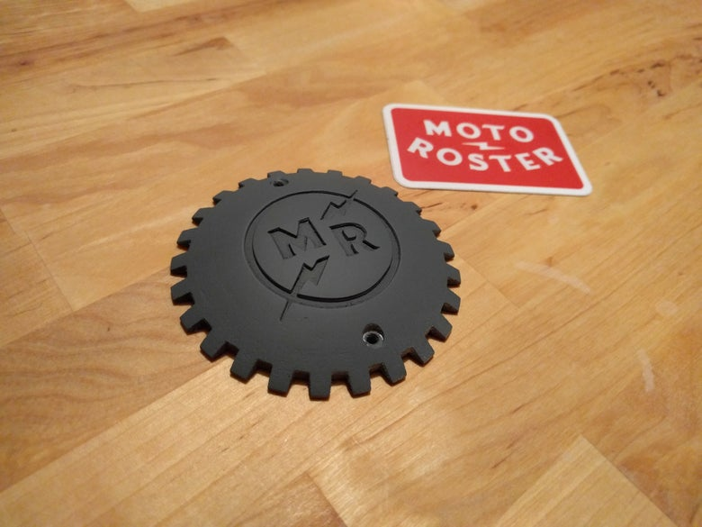 Image of Moto Roster Connected Badge