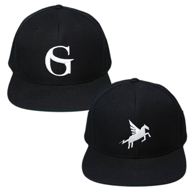 "Image of ""GS"" or ""Pegasus"" Snapback"