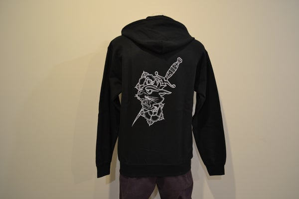 Image of Sykotic x Jimmy B Panther Zip Hood