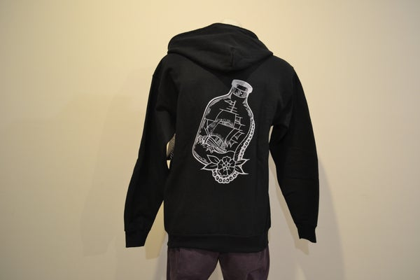 Image of Sykotic x Jimmy B Bottled Ship Zip Hood