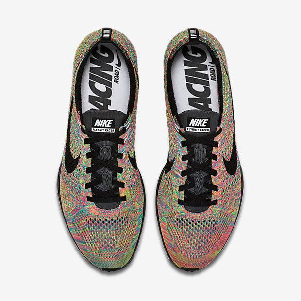 Image of Nike Flyknit Racer Multicolor 2016