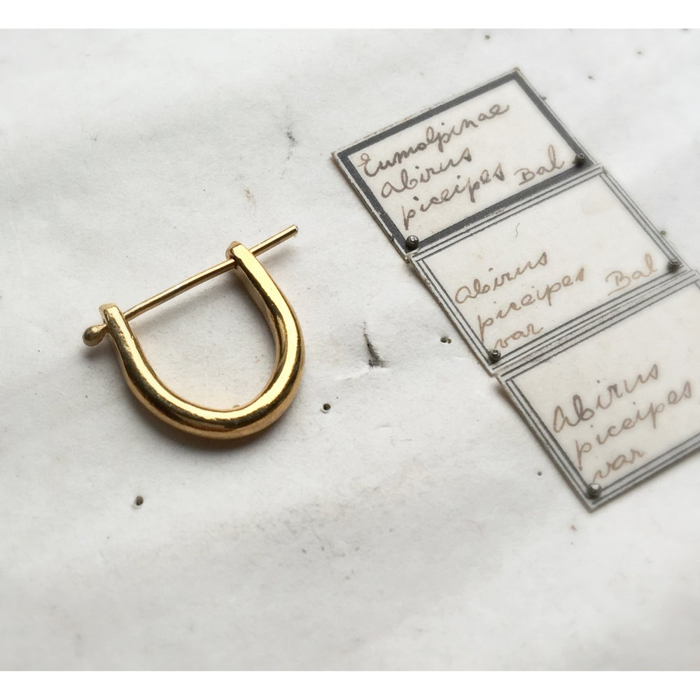 Image of EAR LOCKERS 14K GOLD AND GOLD PLATED