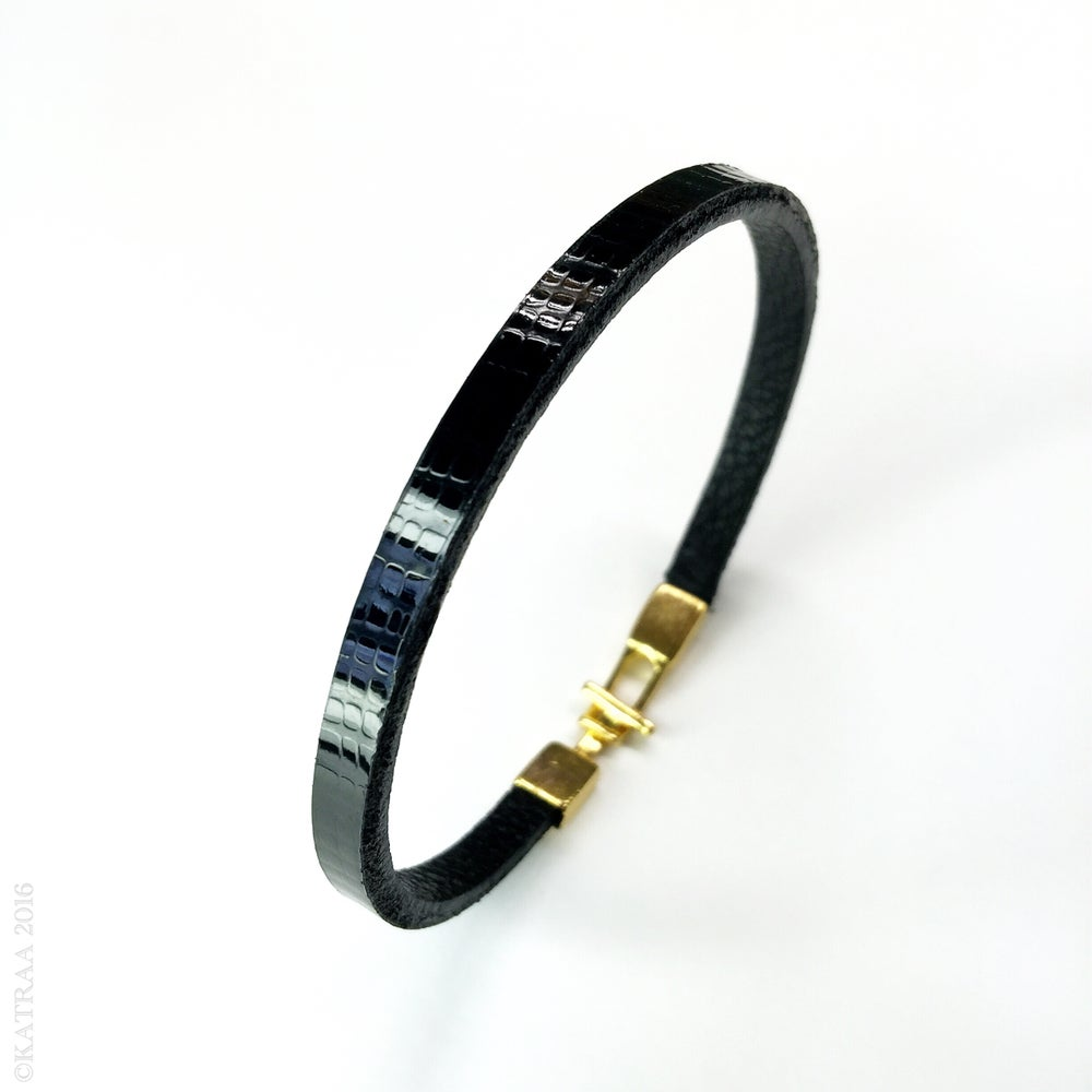 Image of Erebus • Leather Bracelet