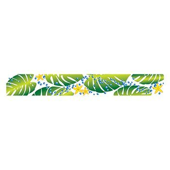 Image of Green Leaf Eco Babe 6-Inch Tattoo