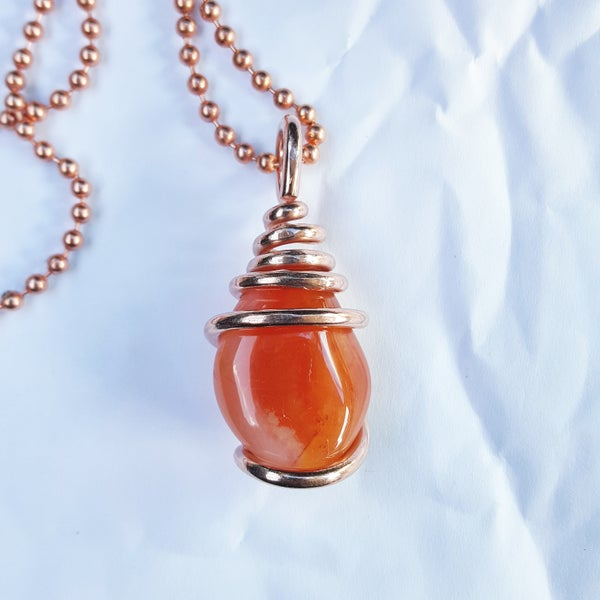 Image of Copper Wrapped Carnelian