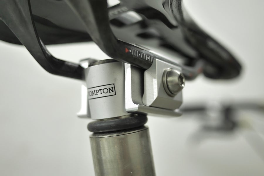 Image of Ti Parts Workshop Carbon Rail Saddle Clamp Adapter