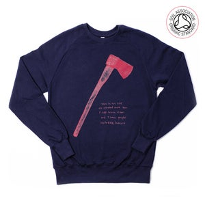 Image of Axe Navy Boys Sweatshirt (Organic)
