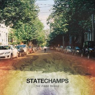 Image of STATE CHAMPS - THE FINER THINGS CD