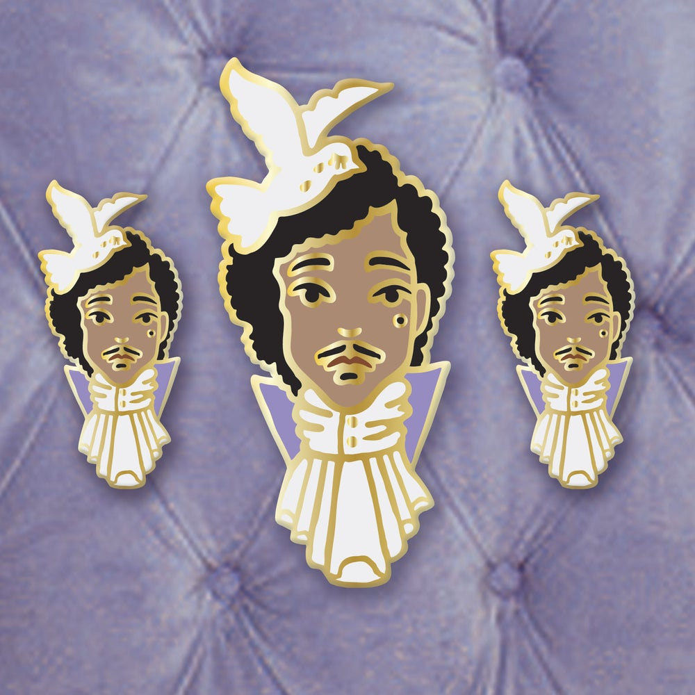 Image of Mini Tribute Enamel Pin