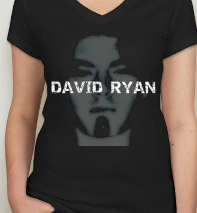 Image of David Ryan-Ladies S/M (Black)
