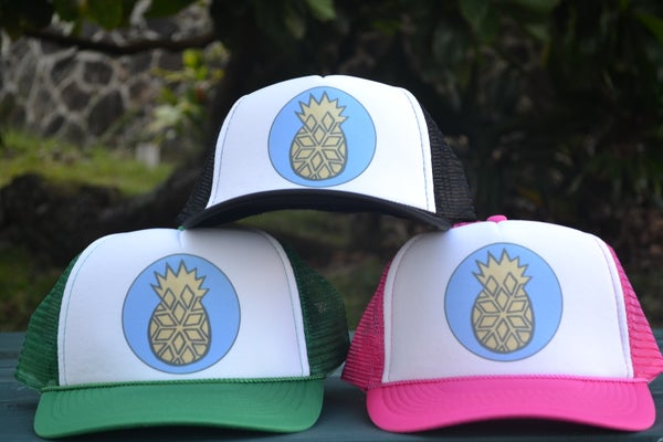 Image of Djuna's Pineapple Trucker Cap