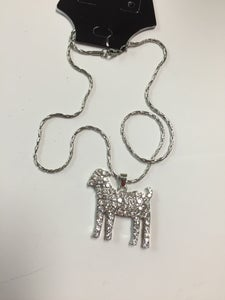 Image of Goat pendant with chain