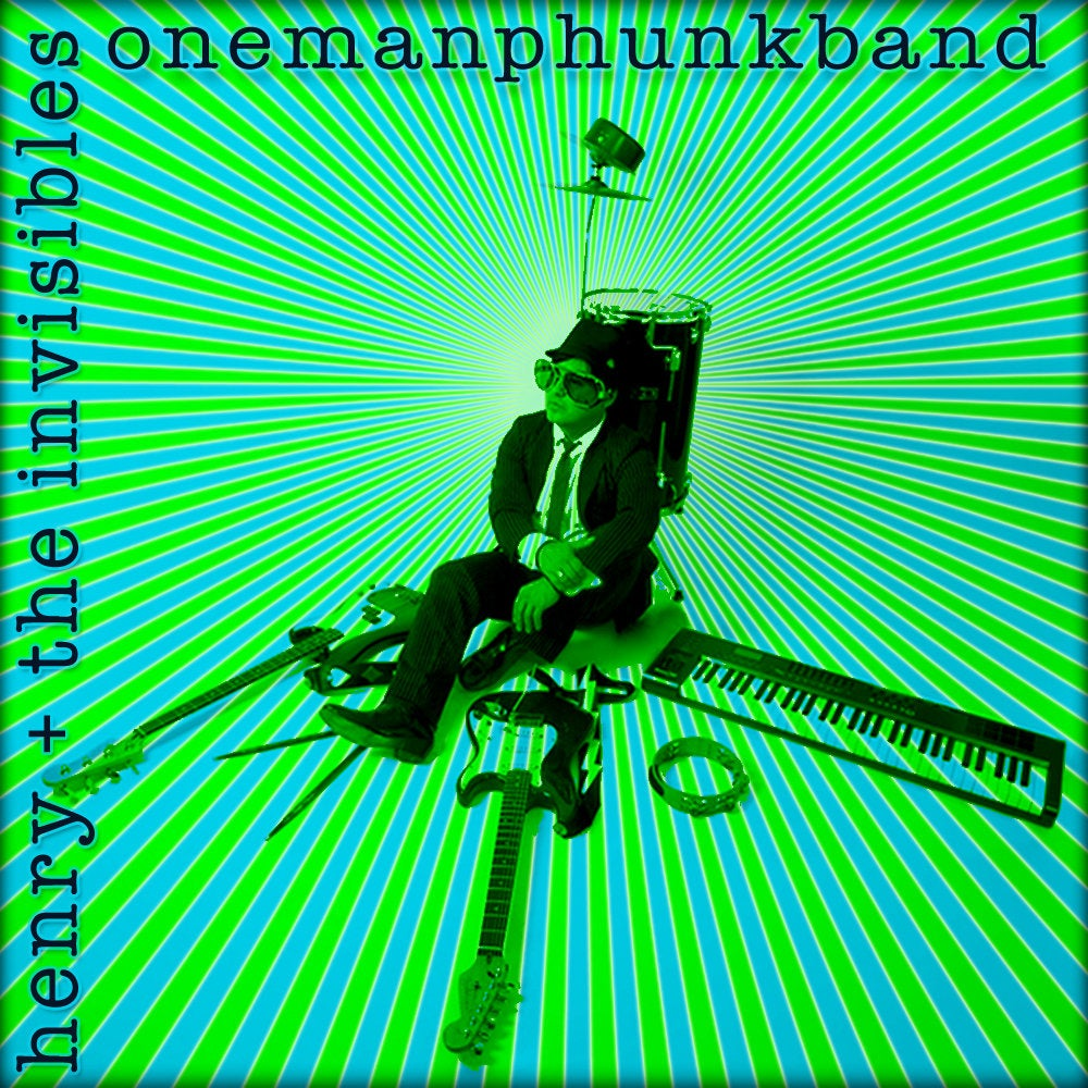 Image of One Man Phunk Band EP - CD
