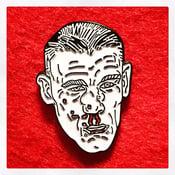 Image of BROKEN FACE Enamel Pin
