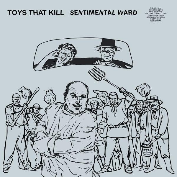 Image of TOYS THAT KILL - Sentimental Ward (LP+DL/CASS+DL/CD Digipak)