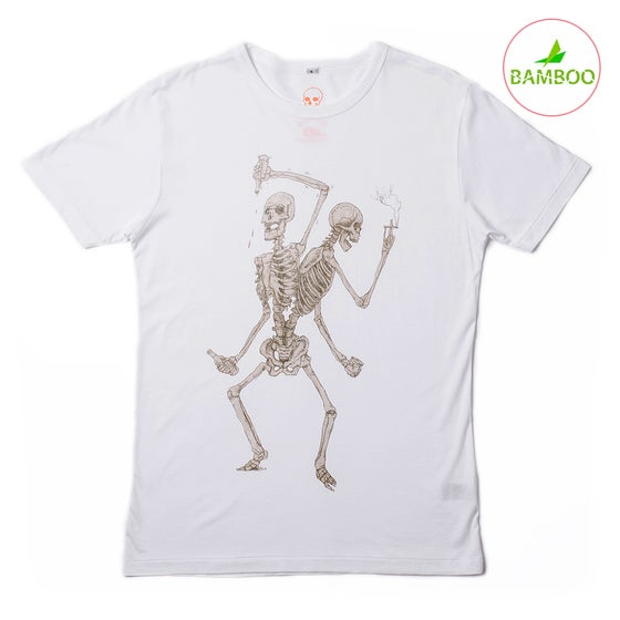 Image of Friends Forever Boys White T-shirt (Organic Bamboo)