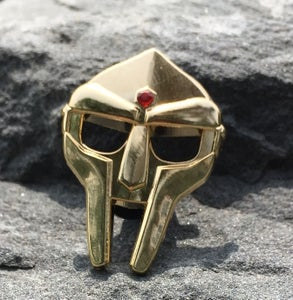 Image of Gold Doom Pin