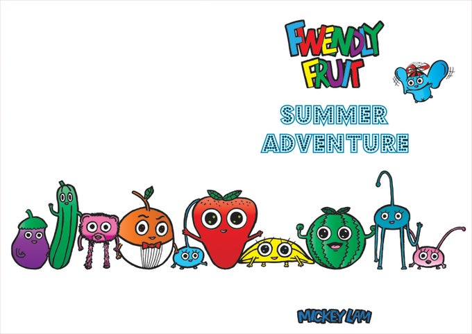 Image of Fwendly Fwuit - Summer Adventure