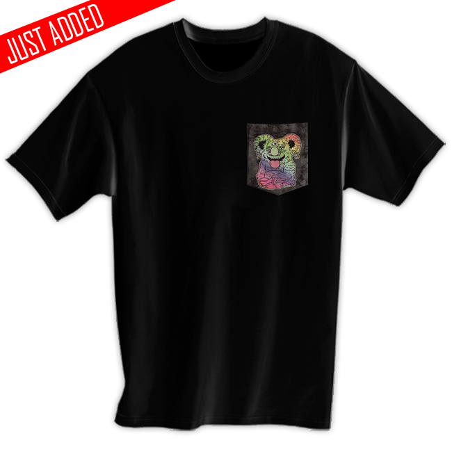 Image of 3rd Eye Melting Koala Pocket Tee