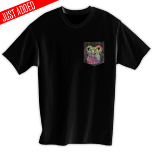 Image of 3rd Eye Melting Koala Pocket Tee