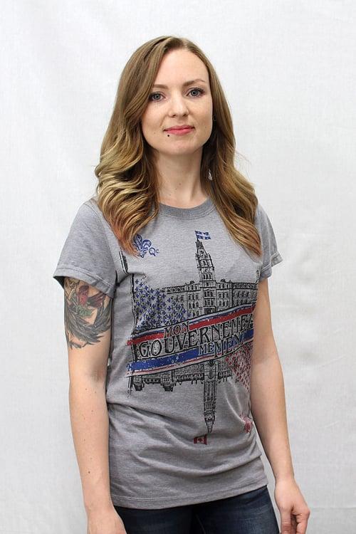 Image of Mon Gouvernement Me Ment T-shirt