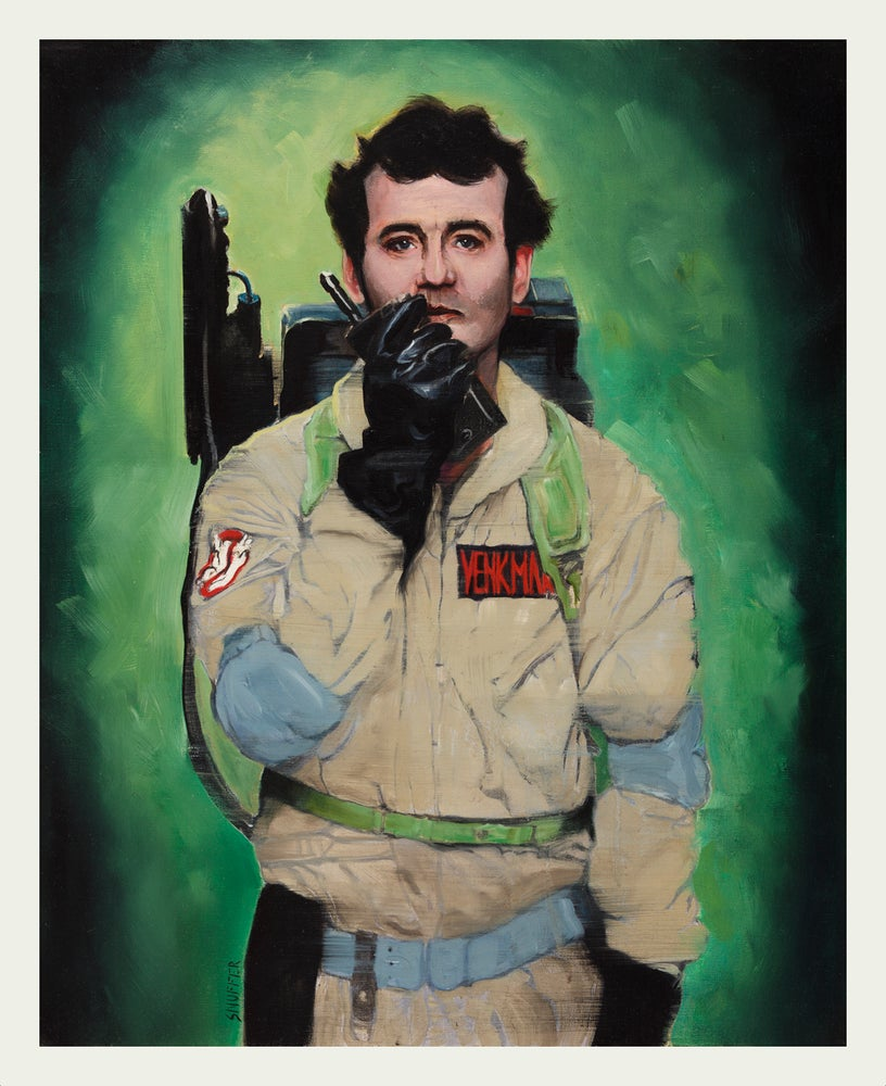 "Image of NOW AVAILABLE! Limited Edition Bill Murray ""Venkman"" Fine Art Print"