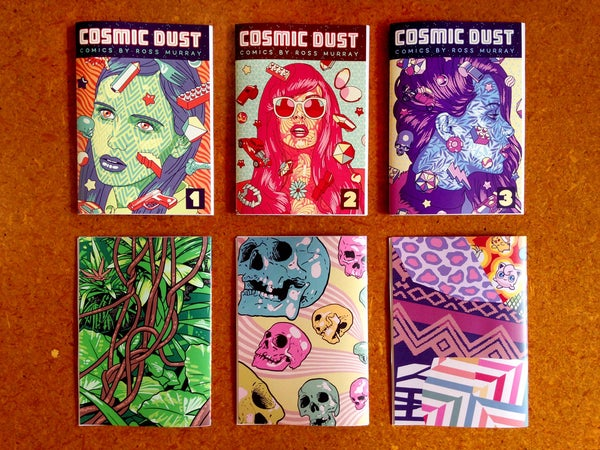 Image of COSMIC DUST Anthology