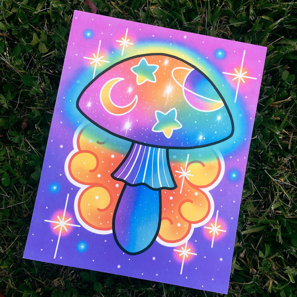 Image of 'Magic Mushroom' - Limited Edition Print