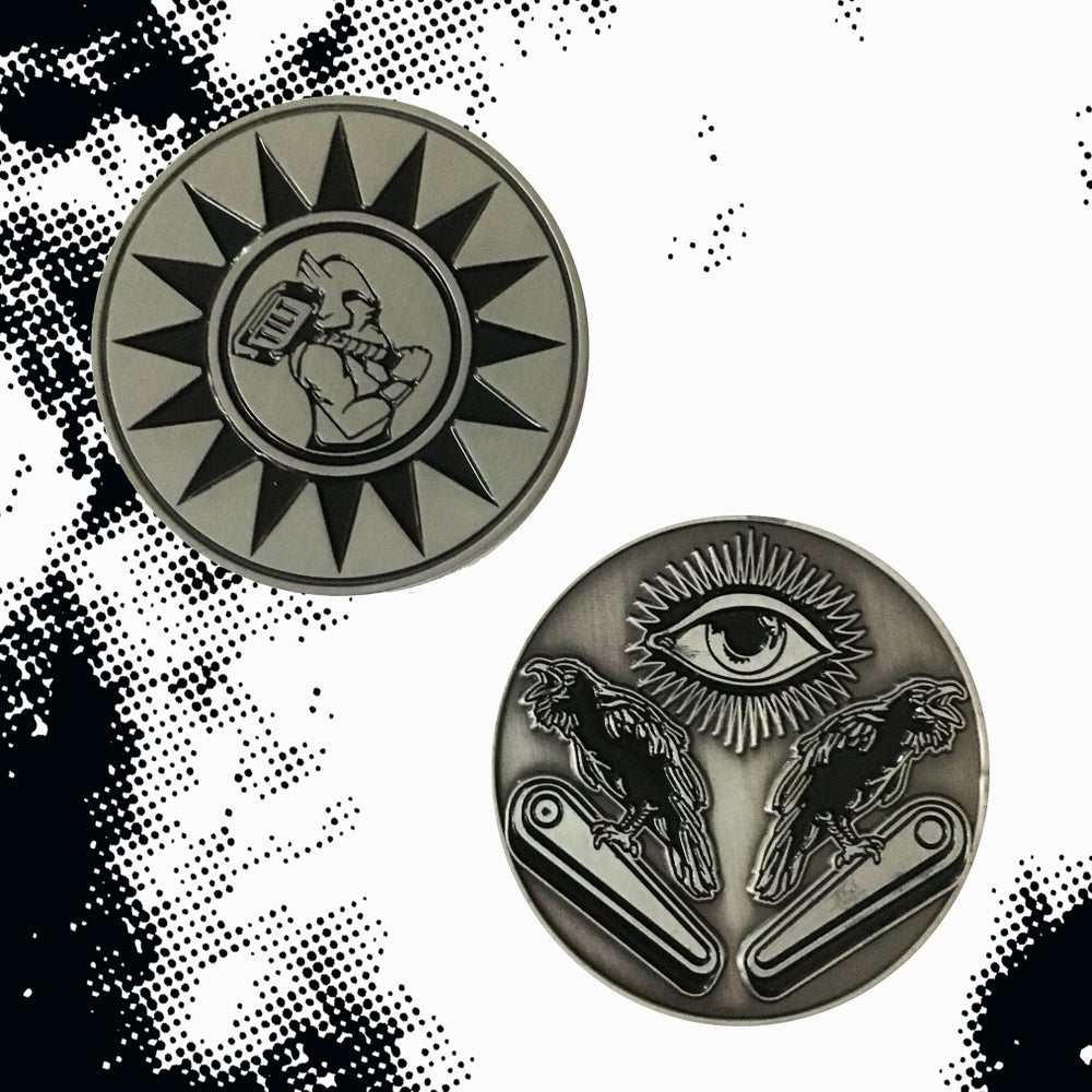 Image of Norse Gods of Pinball: Odin/Thor Flip Coin