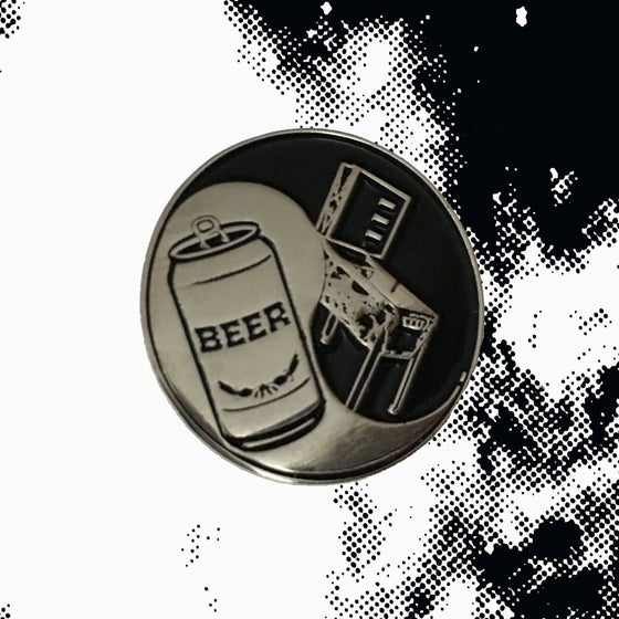Image of BeerBall Enamel Pin