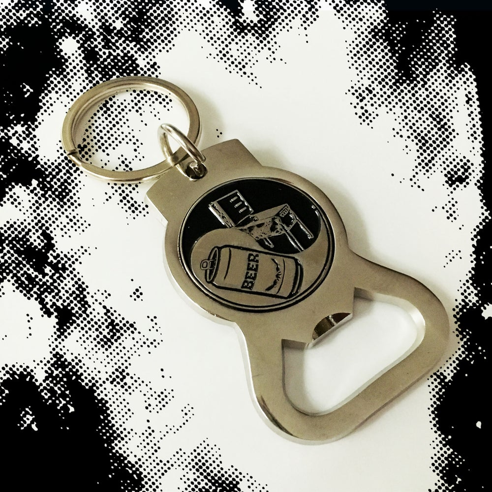 Image of BeerBall Bottle Opener Keychain