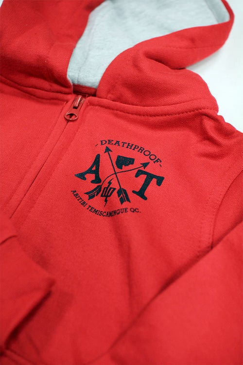 Image of AT Arrow Hoodie Zip-Up Enfant
