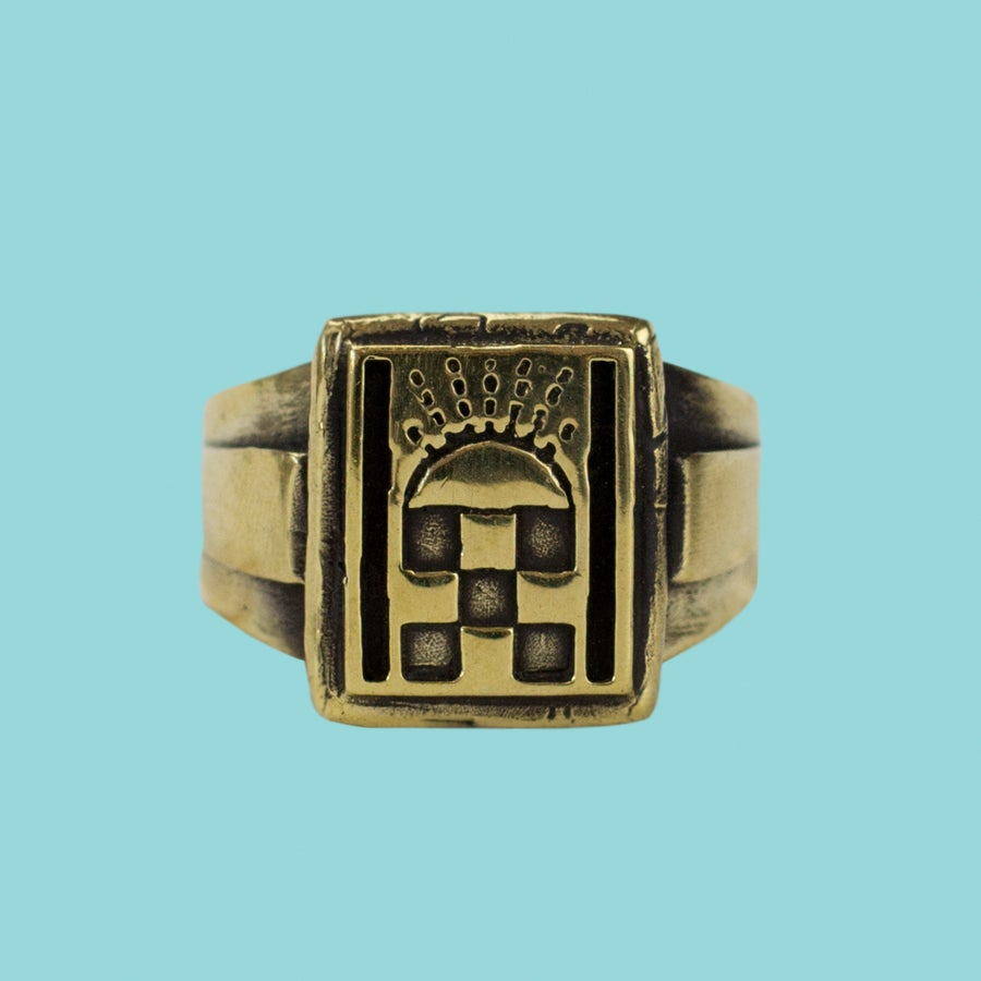 Image of FOLLOWING IN FATHERS FOOTSTEPS RING