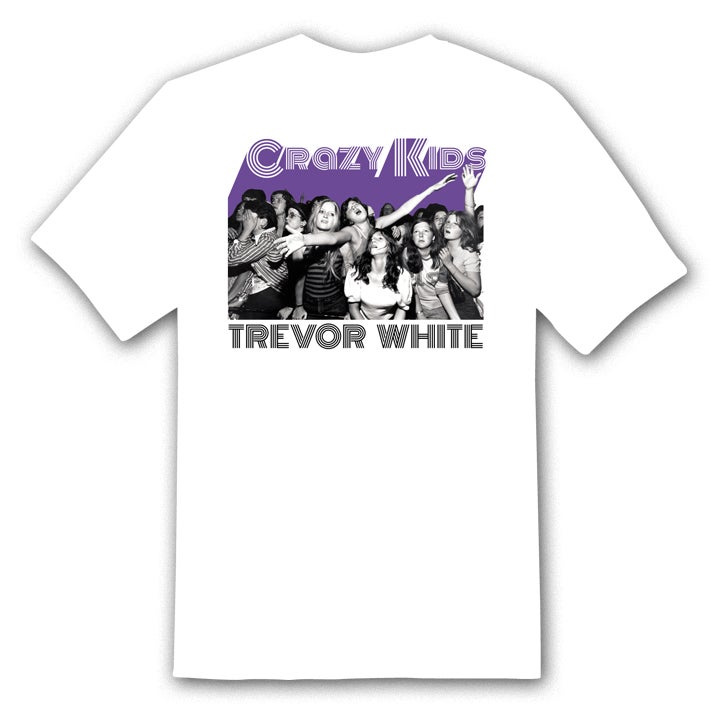 "Image of TREVOR WHITE ""Crowd"" t-shirt"