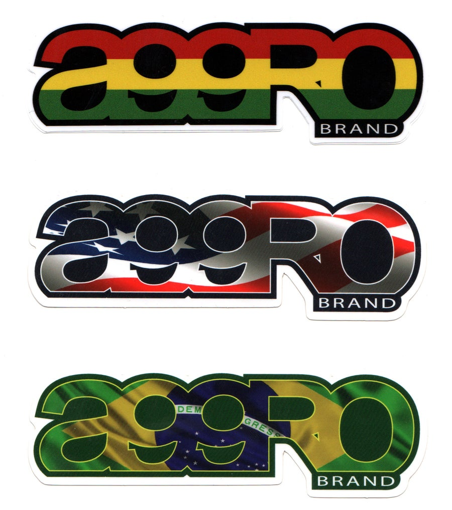 "Image of AGGRO Brand ""Logo"" Sticker"