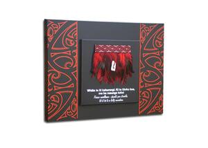 Image of Contemporary miniature Kākahu (Cloak) Large 2