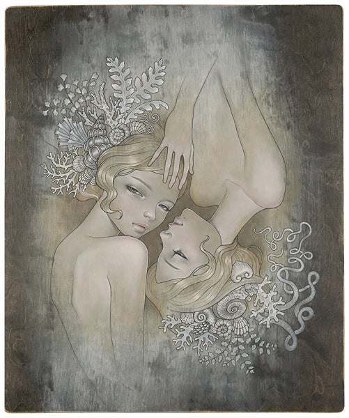 Image of 'Two Sisters' by Audrey Kawasaki