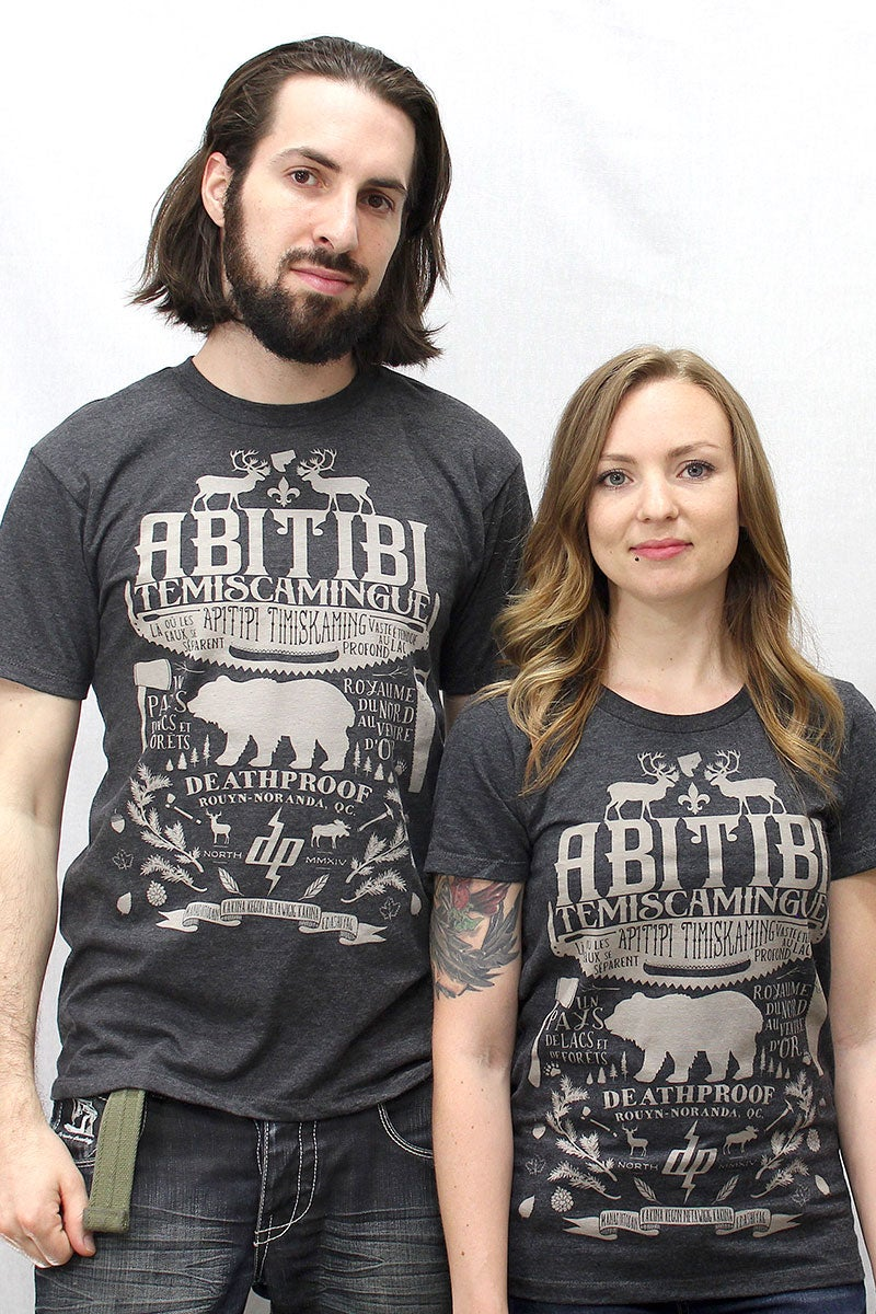 Image of Abitibi-Témiscamingue / T-shirt Homme&Femme