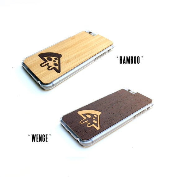 Image of TIMBER Wood Skin Case (Samsung) : Melted Pizza Inlay Edition