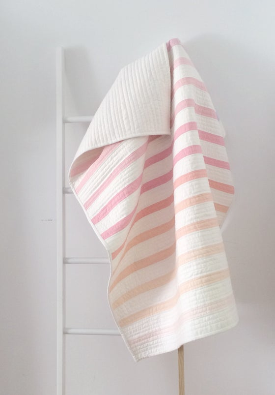 Image of Sherbet Stripe Quilt