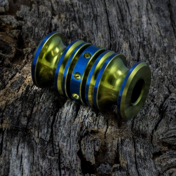 Image of Yellow & Blue Triple Bead Set #3
