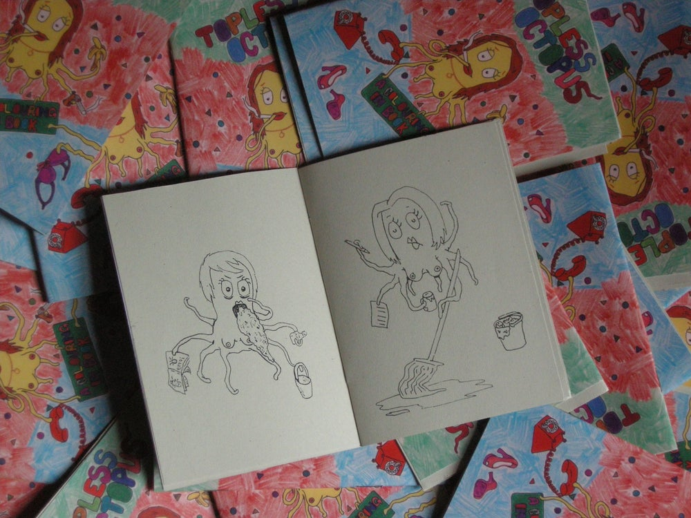 Image of Octopus Colouring-In Book (2012)