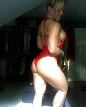 Image of RED WHALE MONOKINI