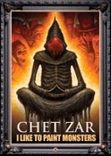 "Image of Signed ""Chet Zar: I Like To Paint Monsters"" DVD Documentary"