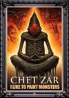 """Signed """"Chet Zar: I Like To Paint Monsters"""" DVD Documentary"""